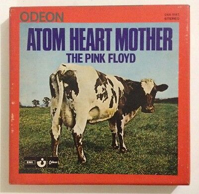 PINK FLOYD ATOM HEART MOTHER JAPAN REEL TO REEL TAPE OXA-5067 7 2/1IPS RARE 1970