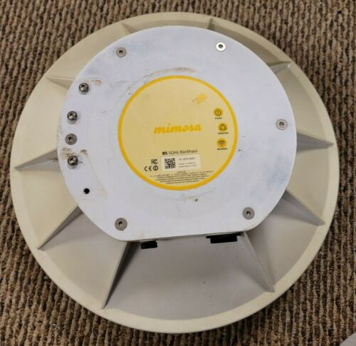 Mimosa B5 Outdoor Gigabit Backhaul Wireless 802.11ac 4x4:4 MIMO 1.7Gbps (Cracked