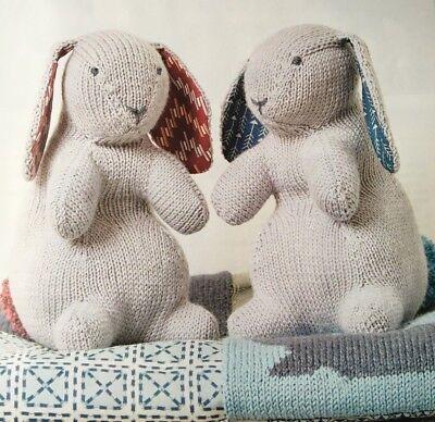 KNITTING PATTERN Bunny Rabbit Childrens Toy 26cm Doll Rowan PATTERN