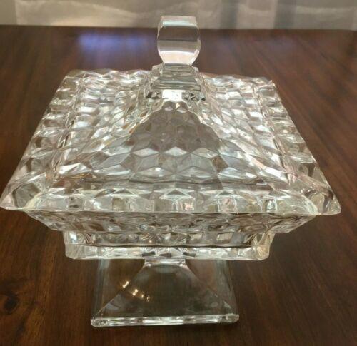 Fostoria American Small Square Wedding Box
