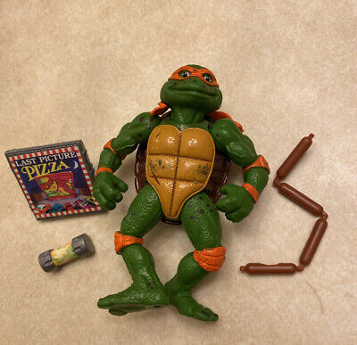 1992 Playmates TMNT Movie Star Mikey Mike Incomplete