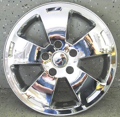 Chevy Impala 16 Chrome Wheel Liner Hubcaps Wheel Skins Rim Cap (2 Pieces)