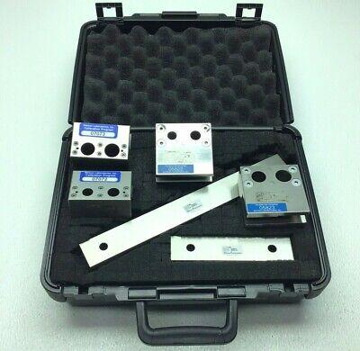 Set Of Mitutoyo Precision Gage Blocks Steel Rectangular Square