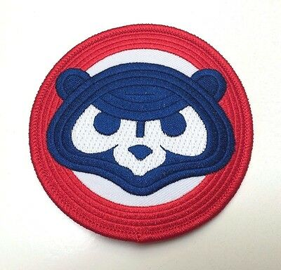Chicago Cubs Vintage 80's Cubbie Bear Jersey Patch Iron on