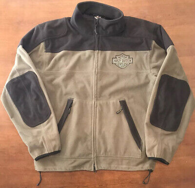 Harley Davidson Riding Jacket Gear Reflective Men's Large Soft And Warm