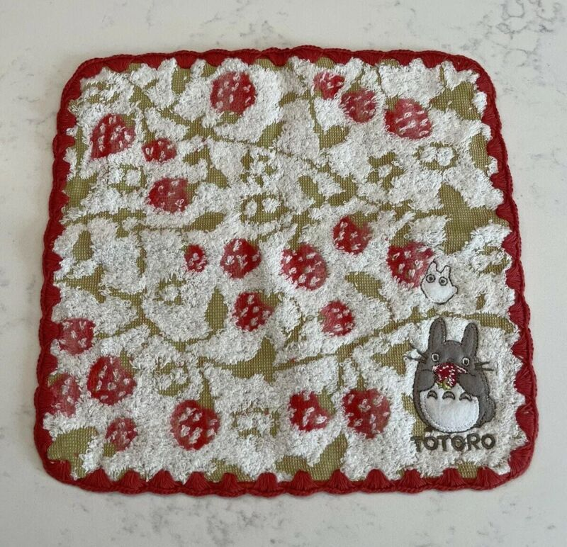 """New Totoro Theme 10"""" x 10"""" Cotton Hand Face Towel Free Shipping"""