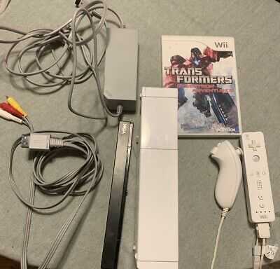 Nintendo Wii Console Complete With 1 Game Controller Nunchuck Wireless Sensor