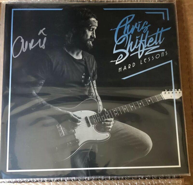 Autographed Chris Shiflett - Hard Lessons LP VINYL Signed