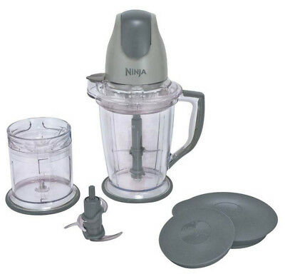 Ninja QB900B Overcome Prep Blender Mixer Food Processor (Certified Refurbished)