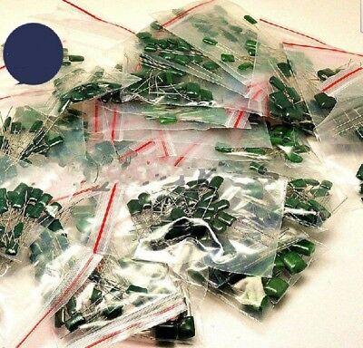 650 Pieces Polyester Poly Film Capacitors 35 Values Assortment Kits 2a 100v