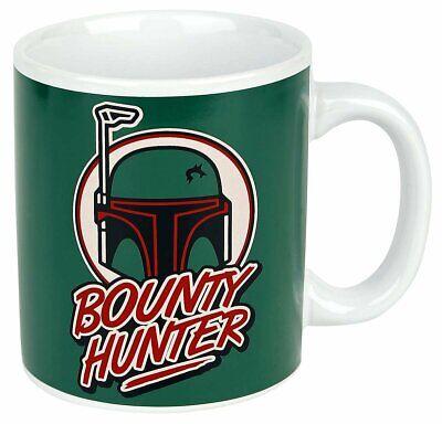 OFFICIAL STAR WARS BOBA FETT BOUNTY HUNTER RETRO MUG COFFEE CUP NEW