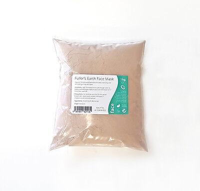 Feinste Natürliche Calcium (Calcium Bentonit (Bleicherde) Sehr Fein Pulver - 1kg - Rein und Natürlich)