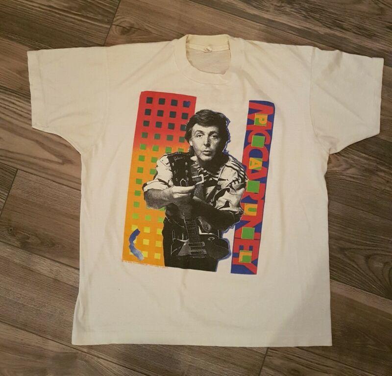 Paul McCartney 1989 - 1990 Tour Shirt M