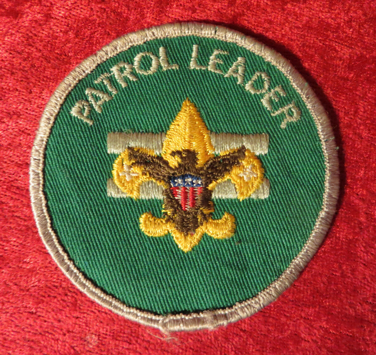 Boy Cub Scout Ready And Prepared Patch Mint Condition