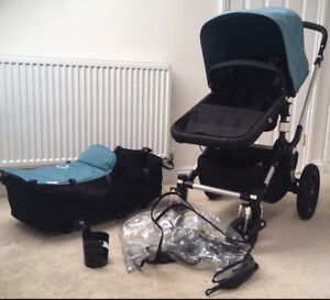 Bugaboo chameleon 3 stroller with extras