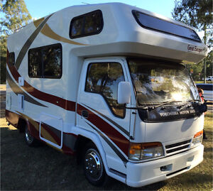 Isuzu Elf Motorhome $62000 this weekend only Meadowbrook Logan Area Preview