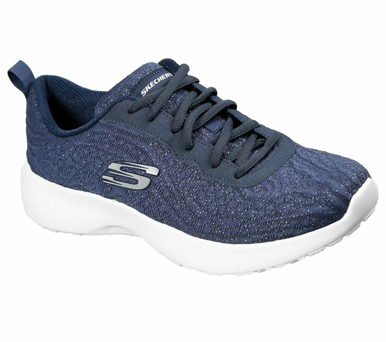 Details zu NEU SKECHERS Damen Sneakers DYNAMIGHT BLISSFUL Blau