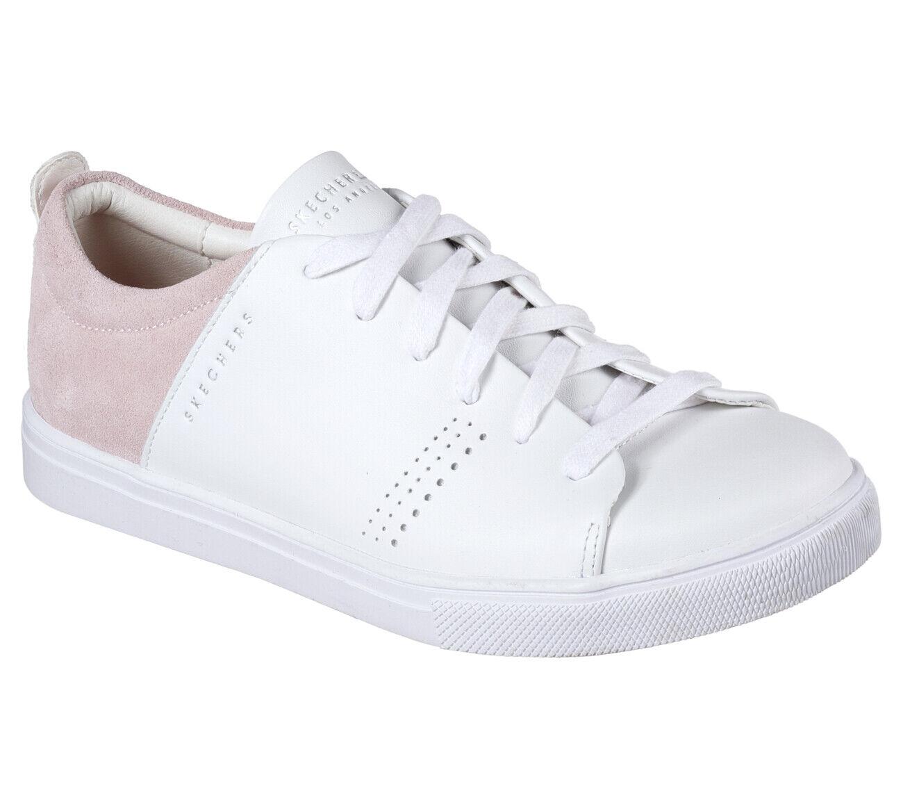 Details zu NEU SKECHERS Damen Sneakers MODA CLEAN STREET Freizeitschuhe Weiß
