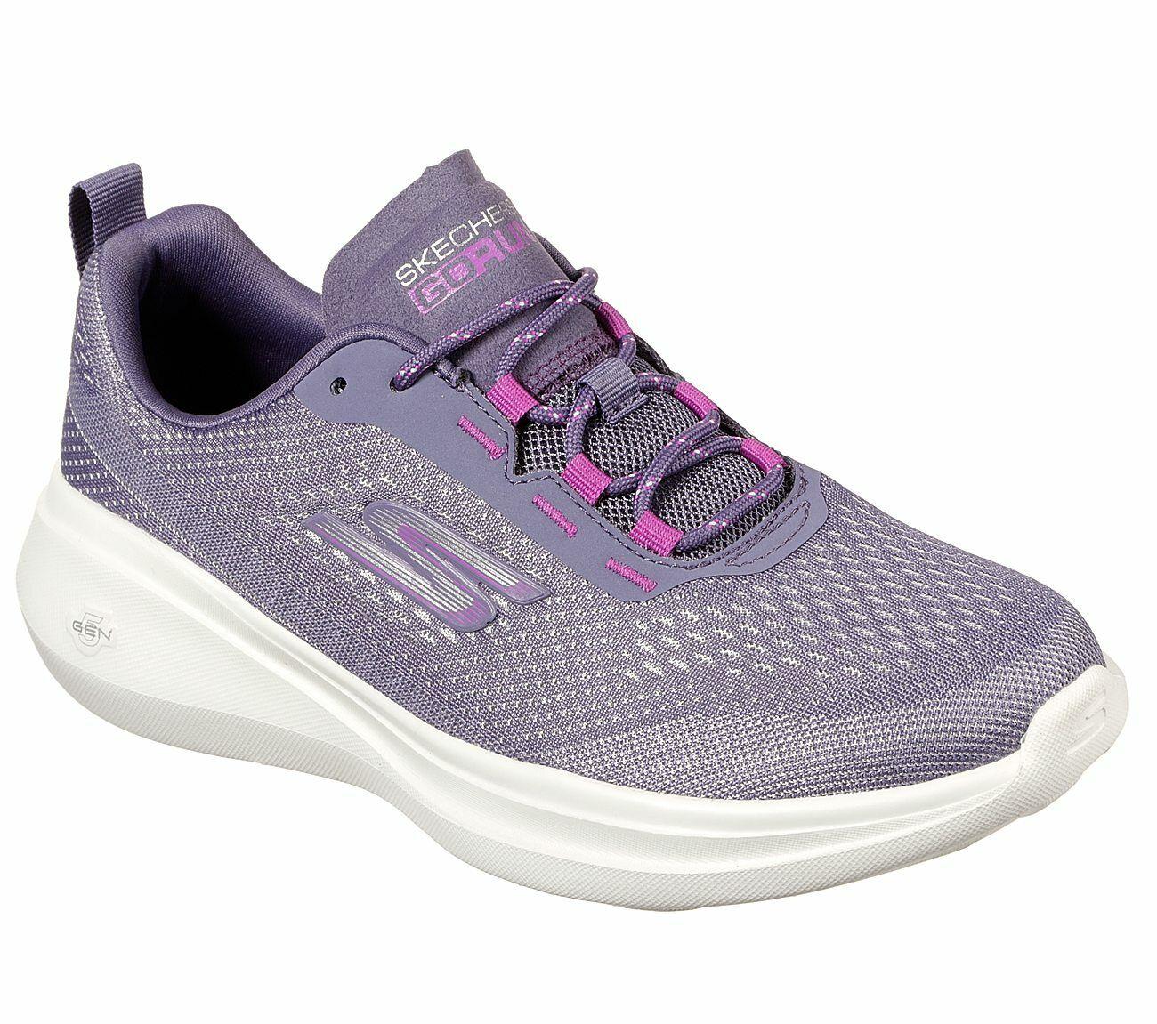 Details zu NEU SKECHERS Damen Sportschuhe Sneaker Training Turn GO RUN FAST LASER Violett