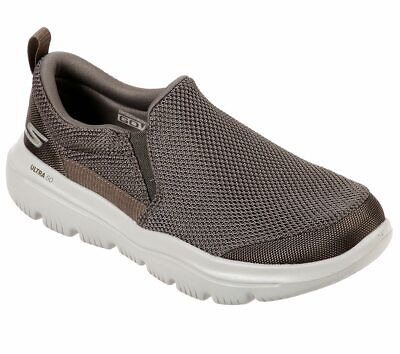 Skechers Khaki shoes Men Comfort Soft Slipon Casual Gowalk Evolution Ultra 54738
