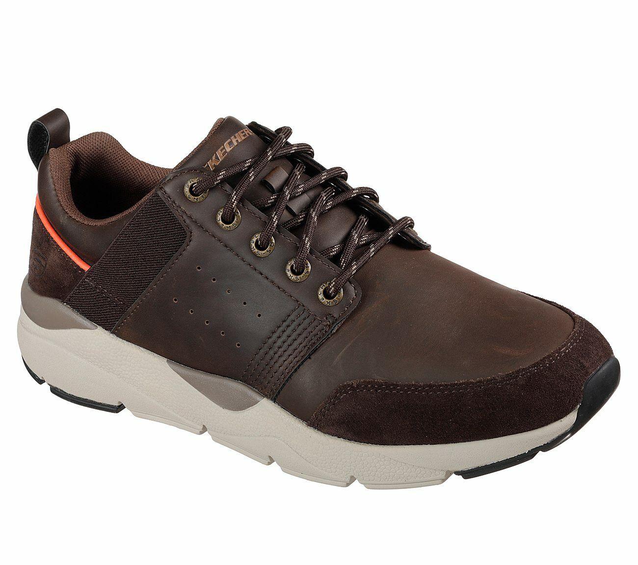 Details zu NEU SKECHERS Herren Sneakers RECENT MEROSO Braun
