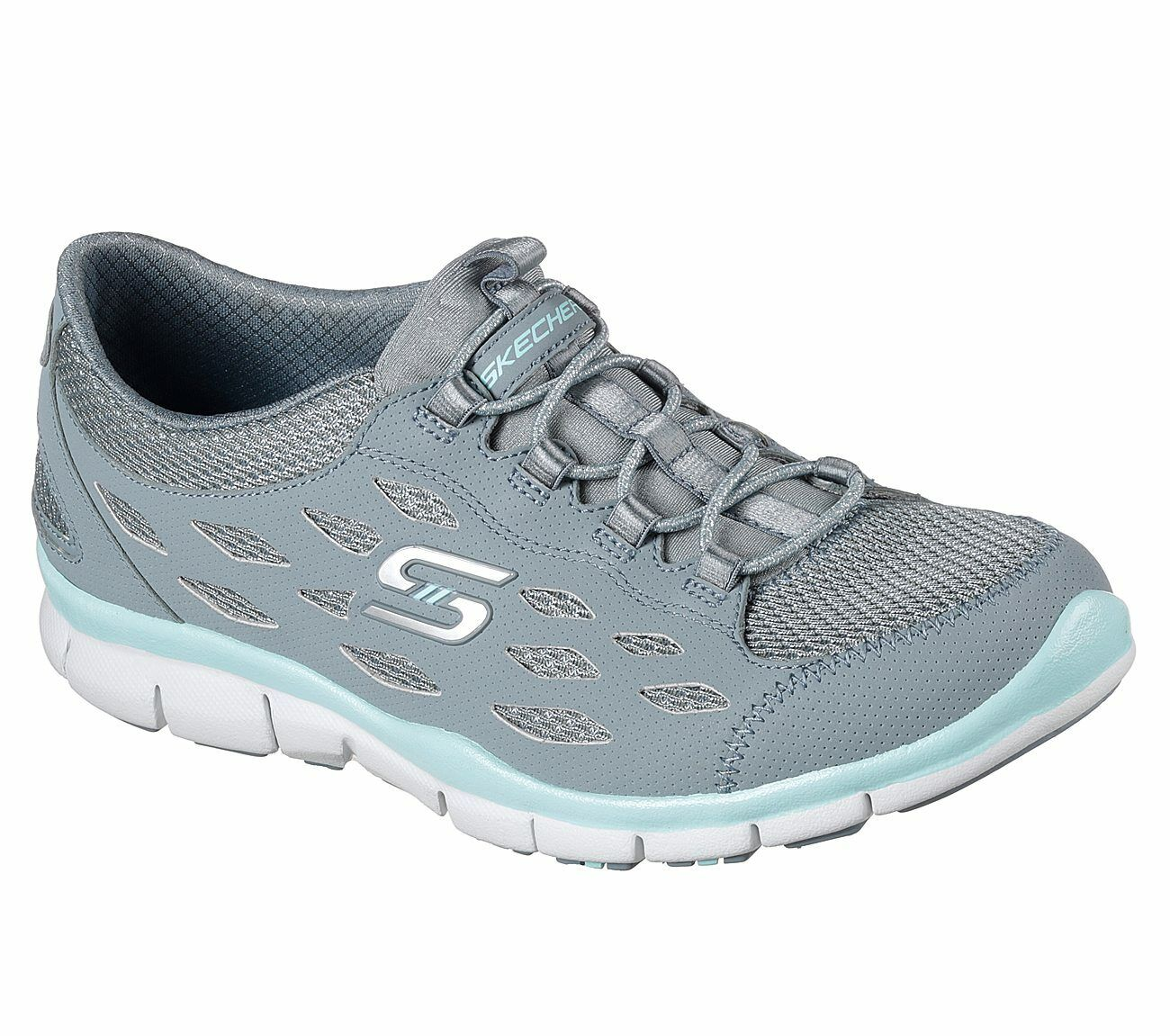 NEU SKECHERS Damen Sneakers GRATIS BREEZY CITY Blau | eBay cPSX2