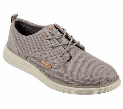 Skechers shoes Taupe Men Memory Foam Casual Comfort Soft Woven Mesh Oxford 65900 Mesh-oxford
