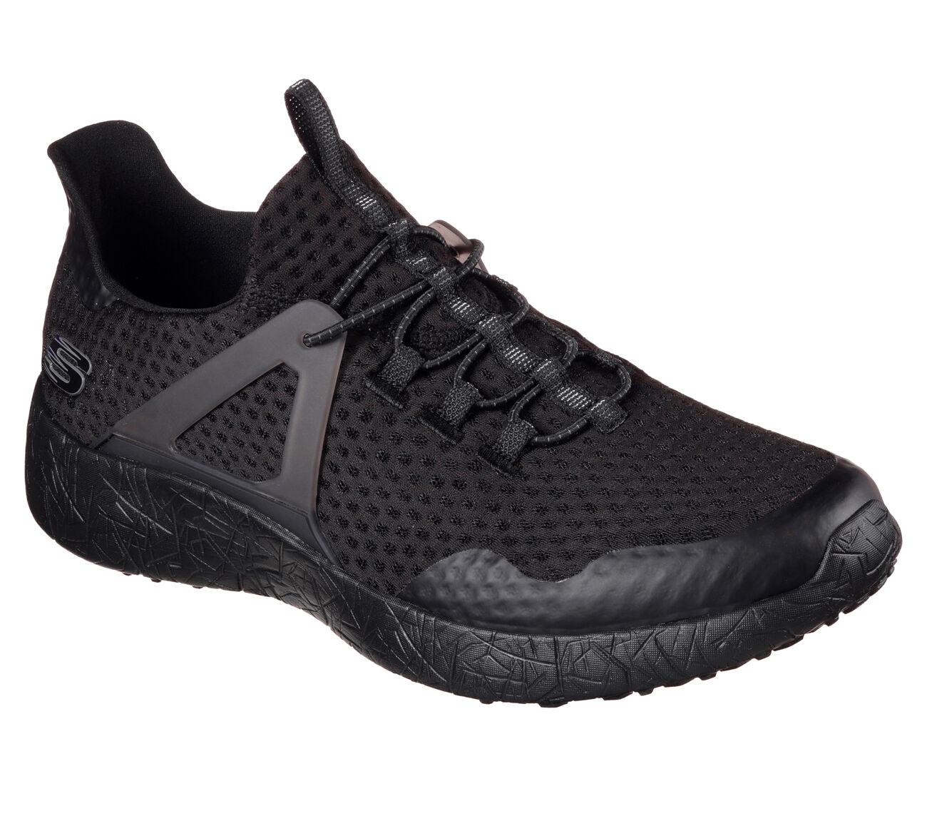 5c02485376b8 Skechers Burst Shinz Trainers Mens Fashion Sports Memory Foam Mesh Knit  Shoes