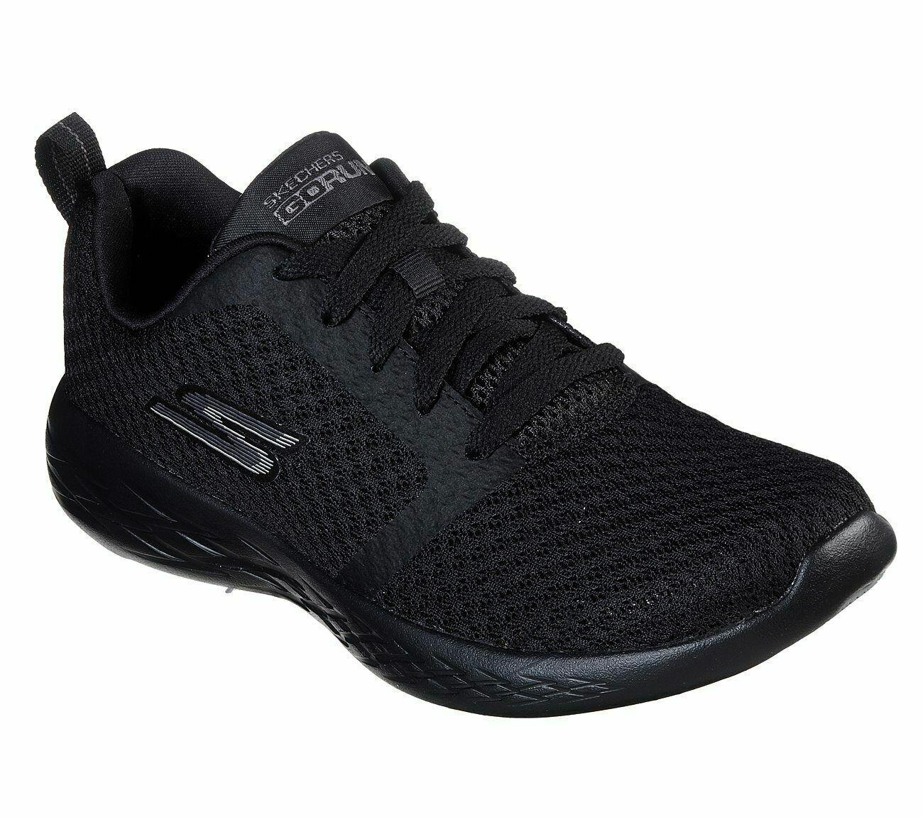 Shoes Women's Skechers Black Sport Go Run 600 Mesh Athletic Casual 15098 Running