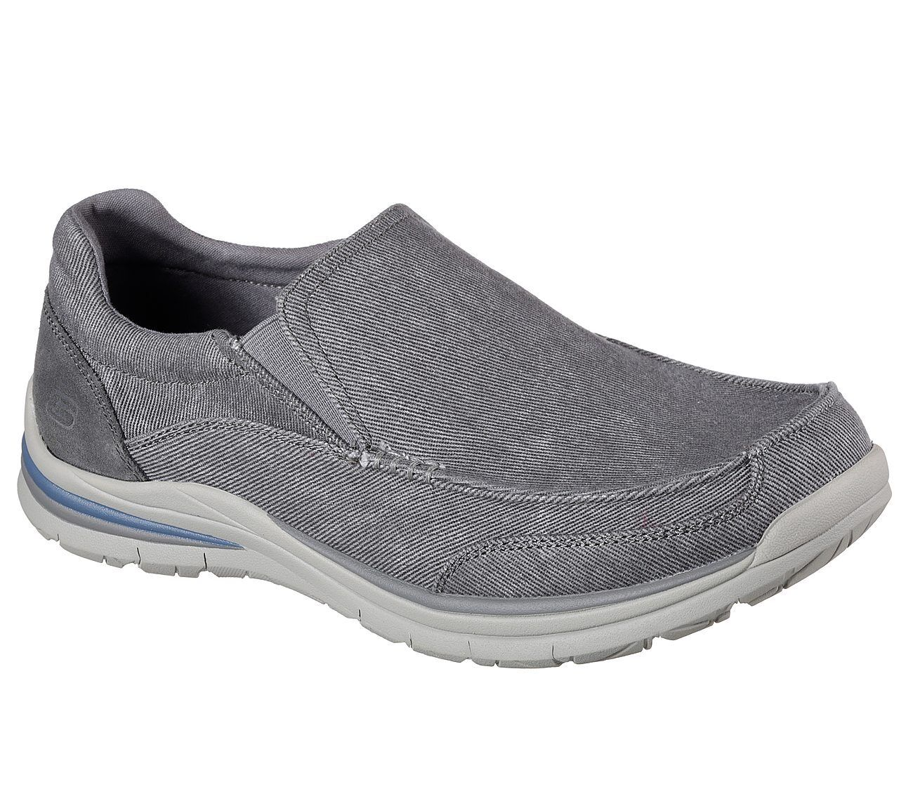Details zu NEU SKECHERS Herren Sneakers SUPERIOR 2.0 VORADO Grau