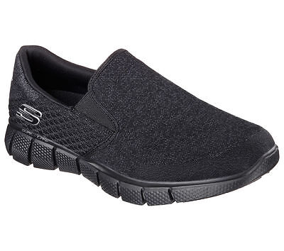 51521 Black Skechers Shoes Men