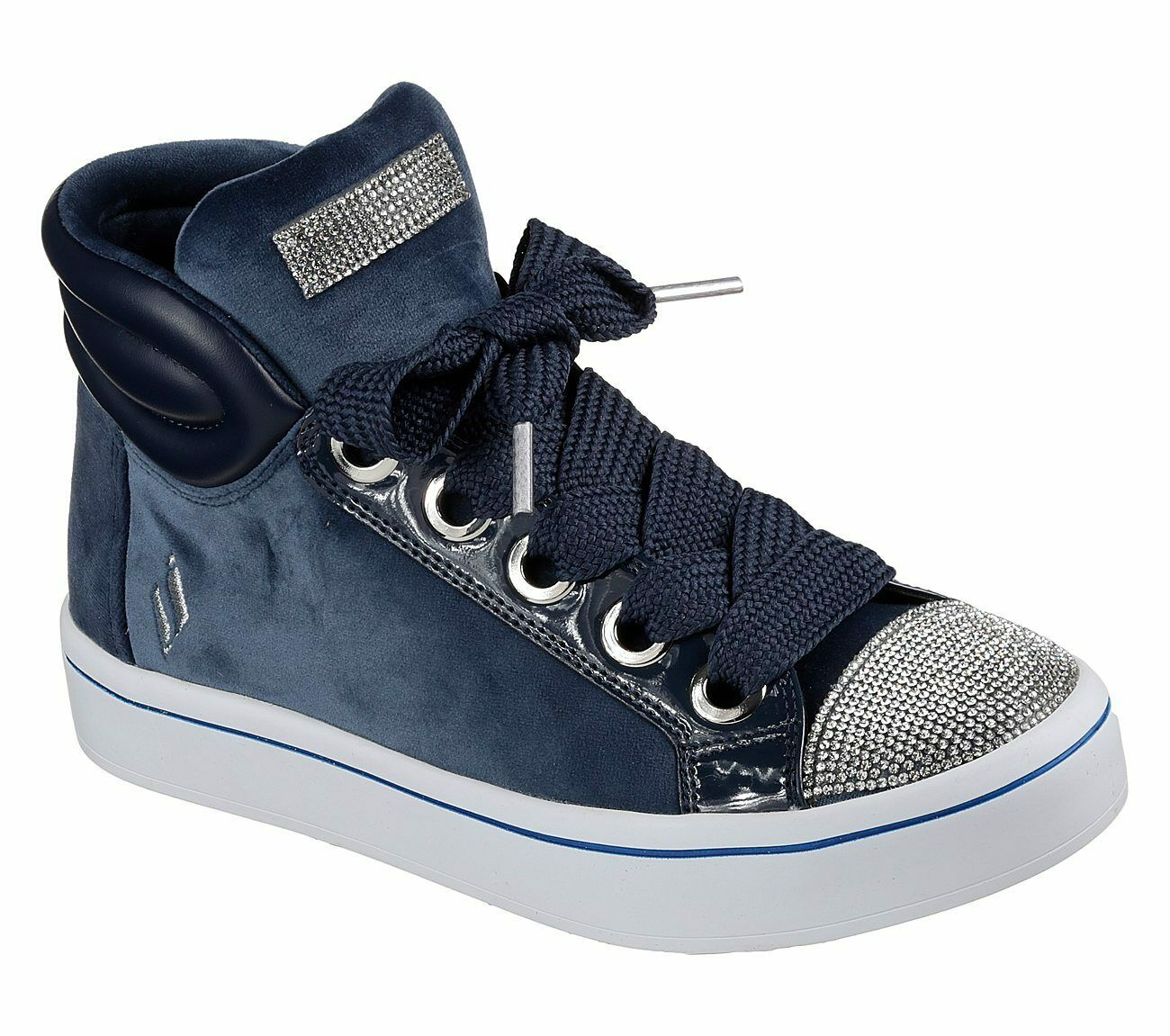 Skechers Women's Casual High Top Fashion Sneaker Hi Lites Ve