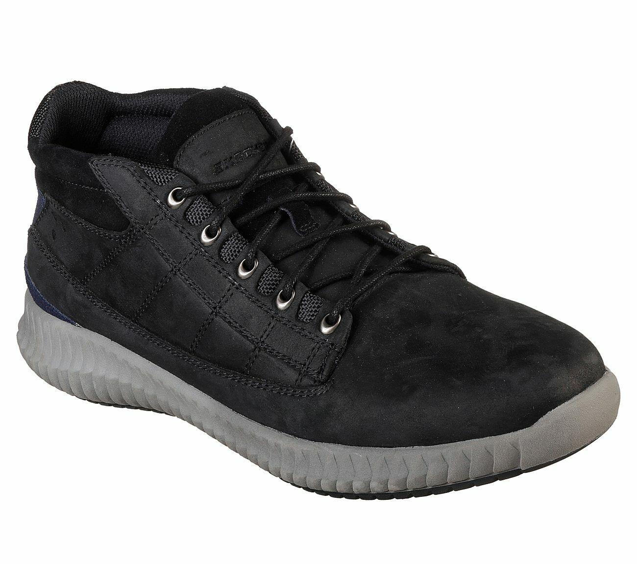 NEU SKECHERS Herren Sneakers Oxford Stil Memory Foam BRENDO 1VHFg