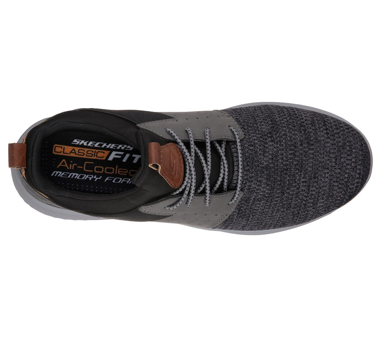 8d4d41b6da06b Skechers Delson - Camben Trainers Mens Sports Lightweight Knit Mesh Shoes  65474