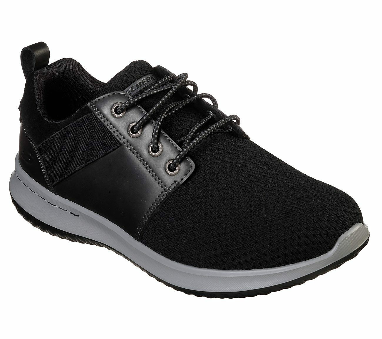 Skechers shoes Black Men's Air Memory Foam Comfort Casual Sp