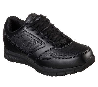 Womens Skechers Memory Foam 77235 NAMPA WYOLA Non Skid Slip Resistant Work Shoes