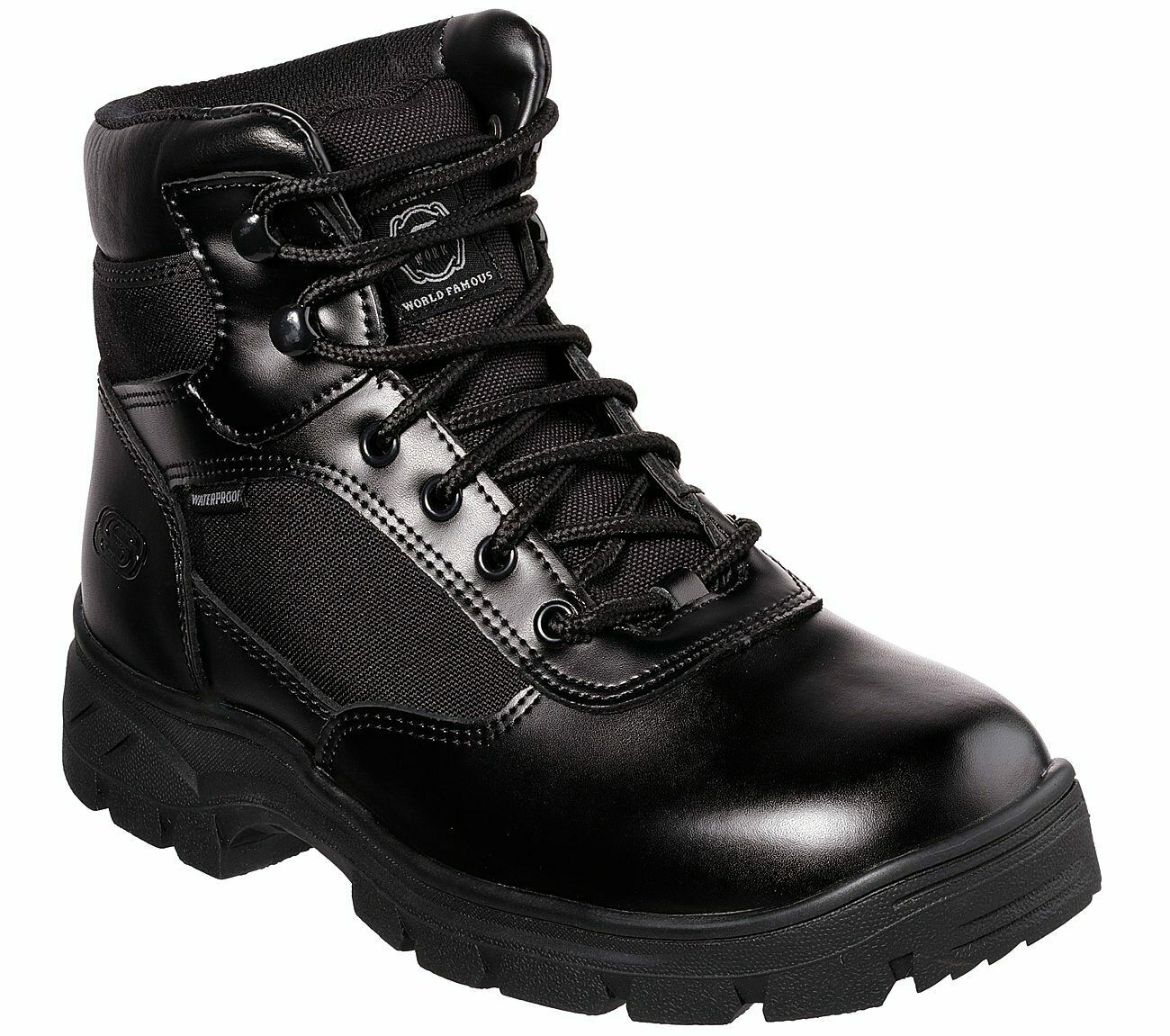 Workshire ST Safety Boots 77009EC Mens Memory Foam Skechers Work Relaxed Fit
