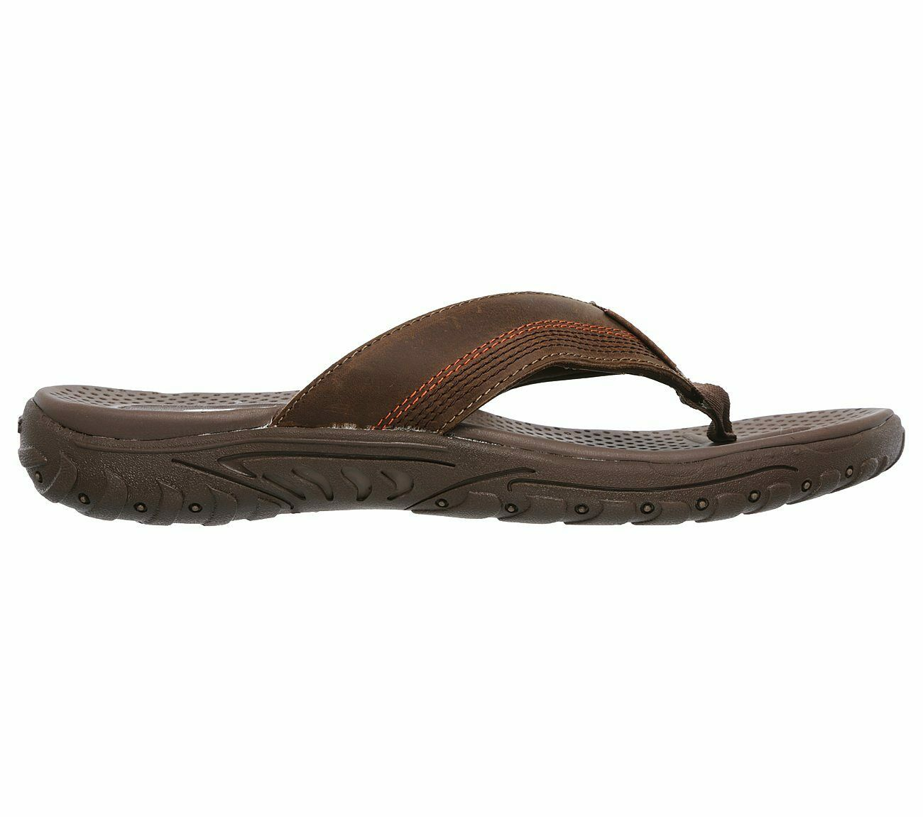 8d7605cc989f Skechers Relaxed Fit  Reggae-Cobano Flip Flops Mens Toe Post Thong Sandals  65460