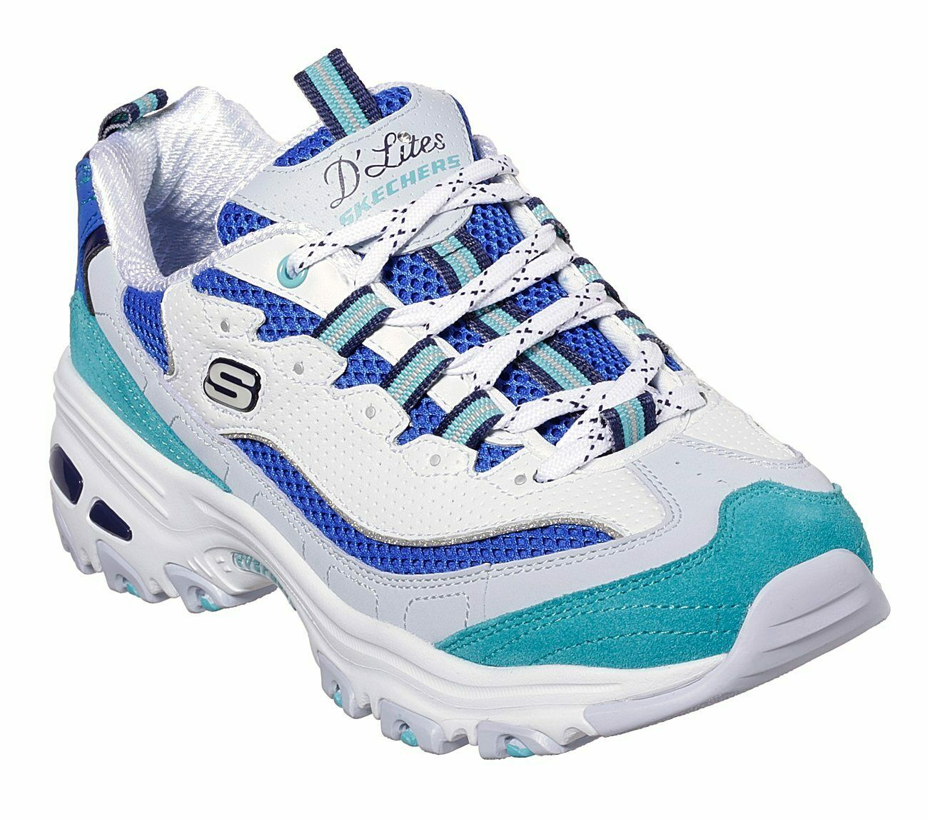 Skechers Damen D'lites Second Chance Sneaker