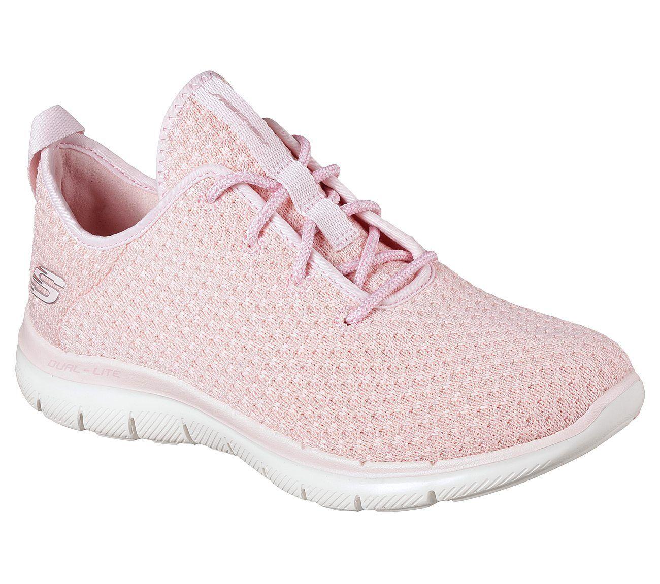 Details zu NEU SKECHERS Damen Sneakers FLEX APPEAL 2.0 BOLD MOVE Pink