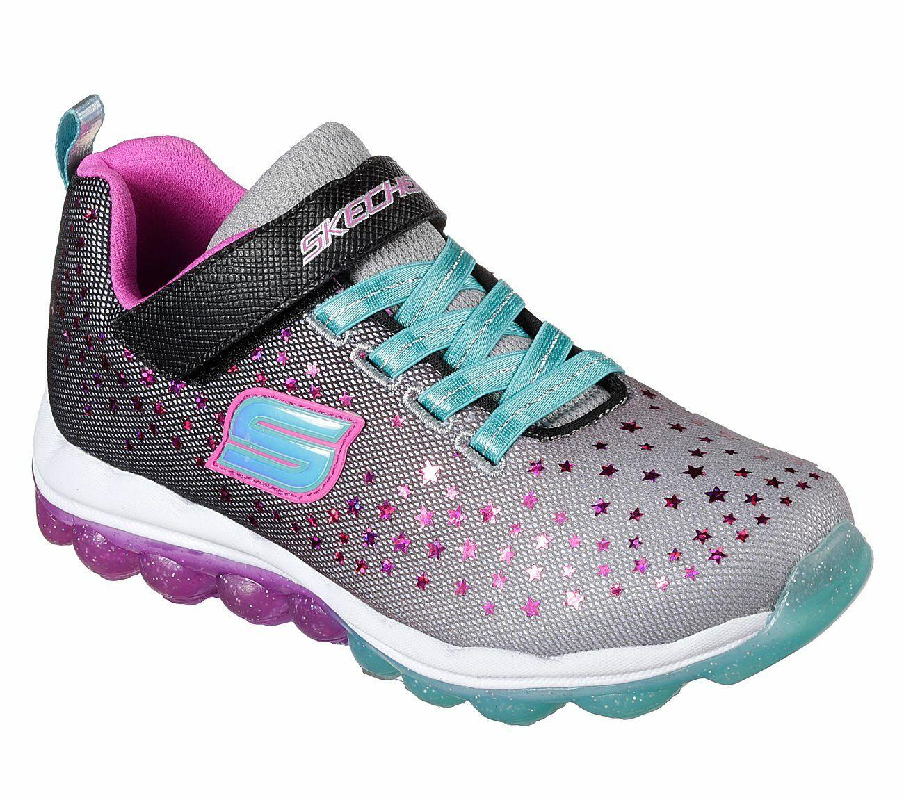 NEU SKECHERS Mädchen Sneakers SKECH AIR Schwarz Freizeitschuhe Sportschuhe | eBay