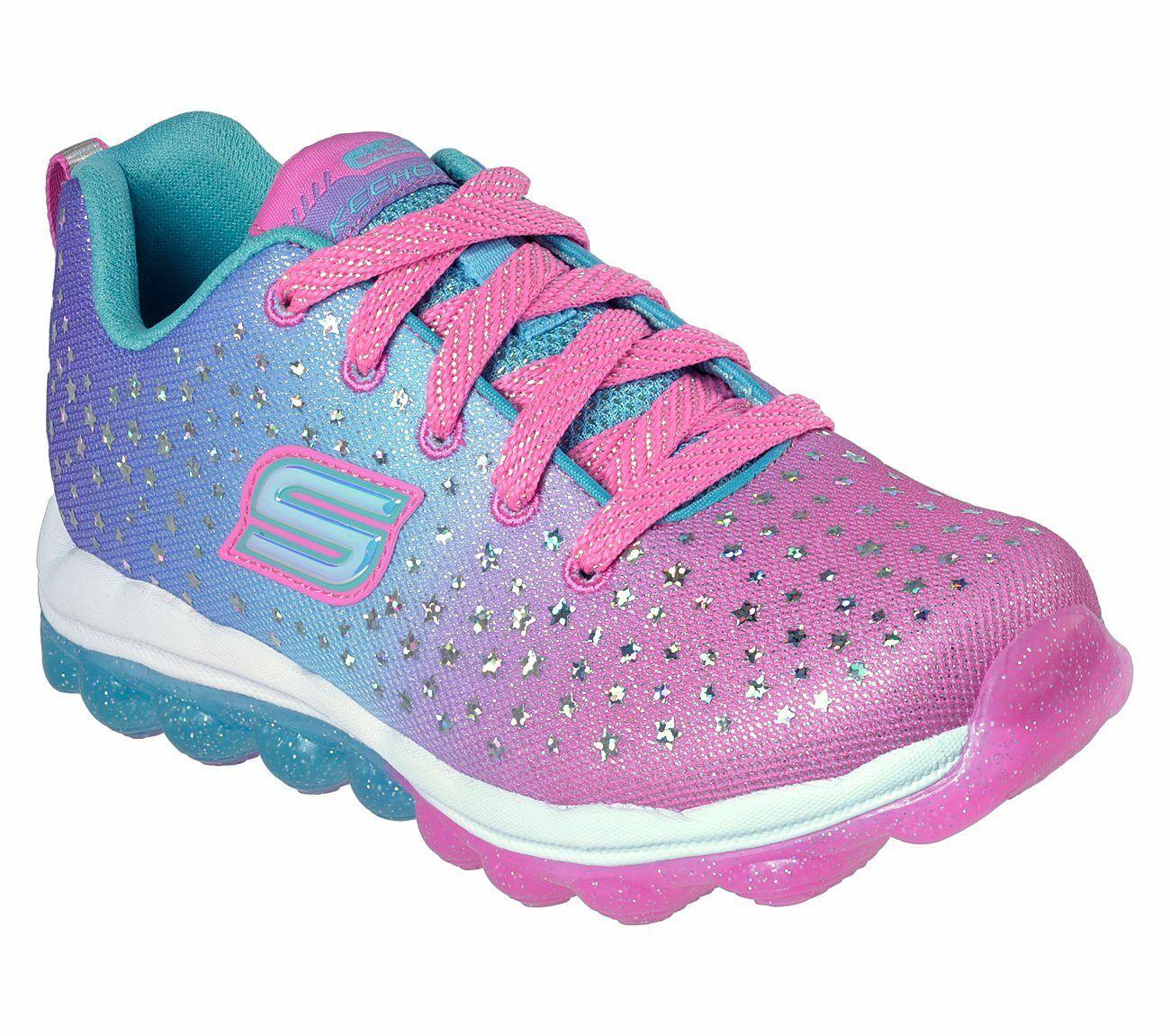 Details zu NEU SKECHERS Mädchen Sneakers SKECH AIR Mehrfarbig Freizeitschuh Trainingsschuh