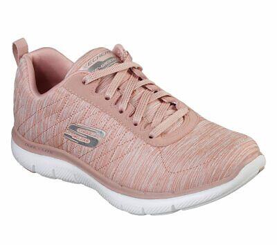 NEU SKECHERS Damen Sneakers FLEX APPEAL 2.0 Sportschuhe Freizeitschuhe Pink
