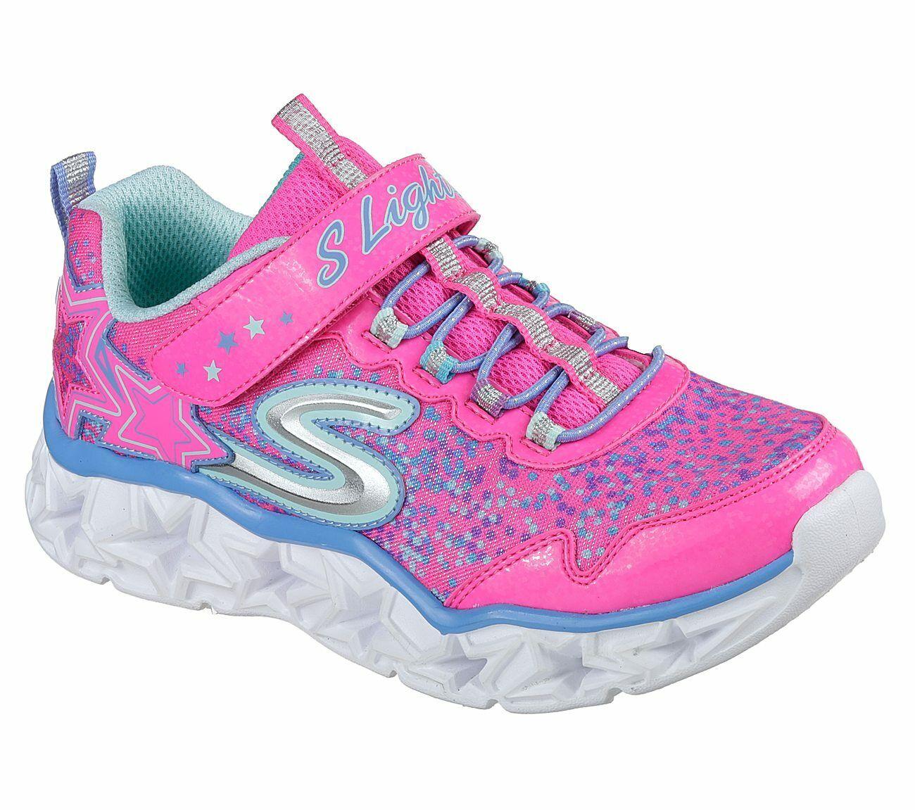 Details zu NEU SKECHERS Mädchen Sneakers JUMPTECH DREAMY DAZE Pink