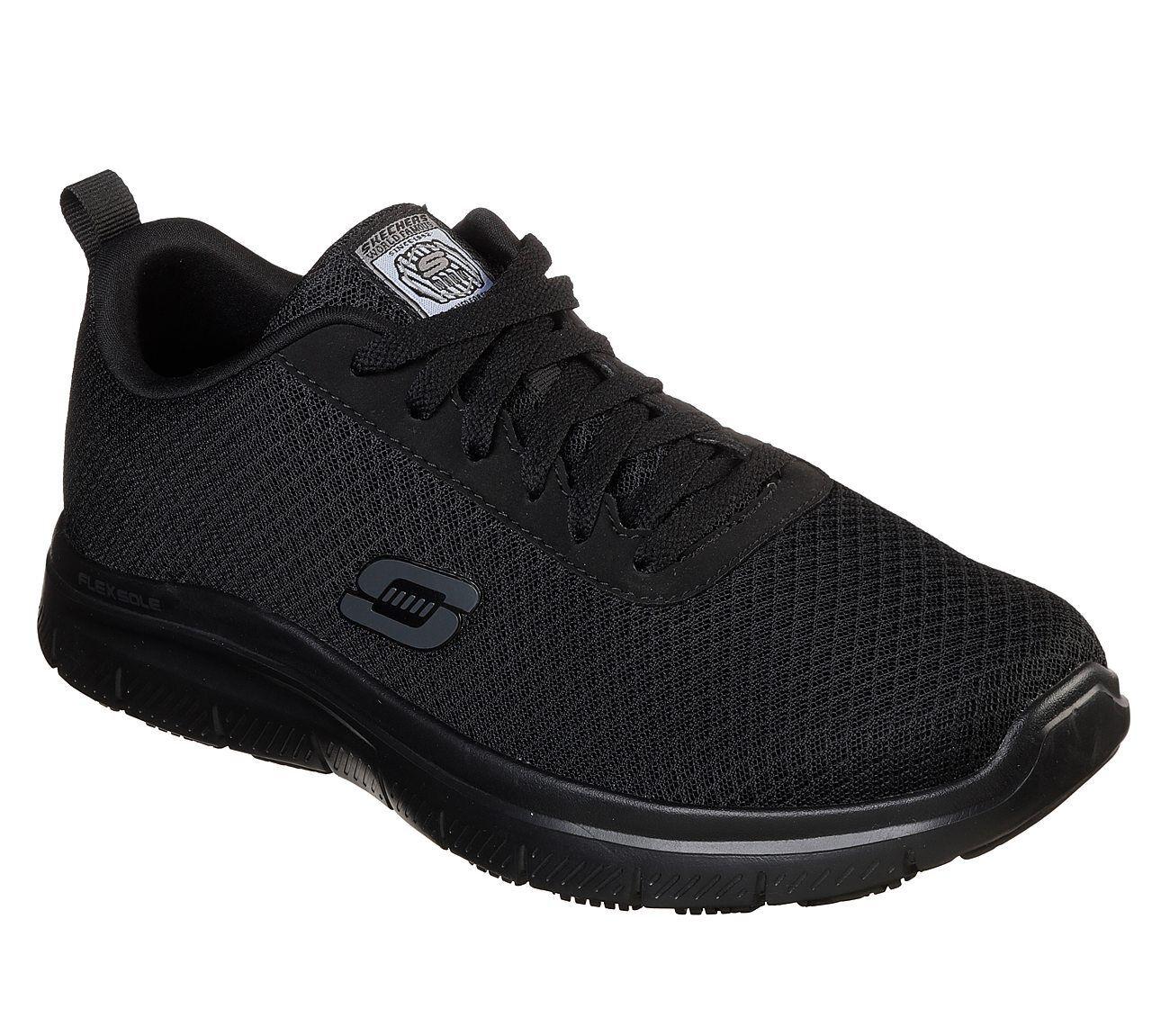Skechers Work Relaxed Fit Flex Advantage - Bendon SR Shoes Mens Trainers  77125EC f8dda67bde0