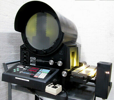 Ogp Optical Gaging Products 14 Screen Comparator W 2-axis Powerfeed Excellent