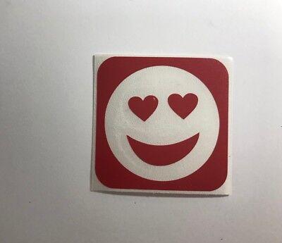 Love Emoji Glitter Tattoo Stencil - 15 Stencils Pack](Tattoo Emoji)