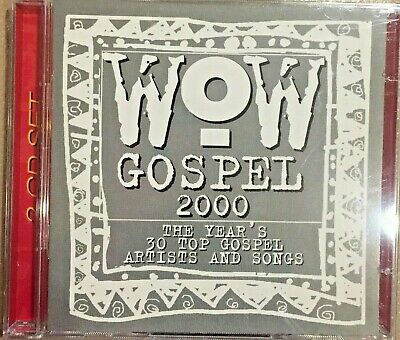WOW Gospel 2000 - The Years 30 Top Gospel Artists and Songs CD  NEW -