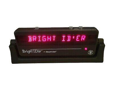 Bright ID'er Caller ID Jumbo Display Model 6700 Made In USA - IDer & AC Adapter
