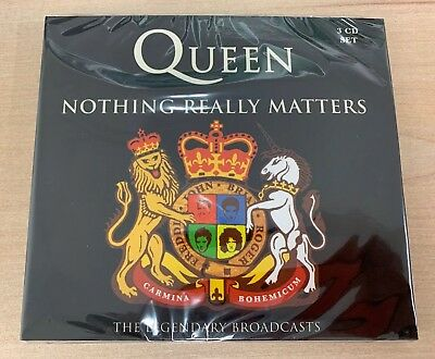 Queen - Nothing Really Matters  3 CD Live Box Set